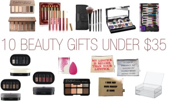 10 beauty gifts under 35